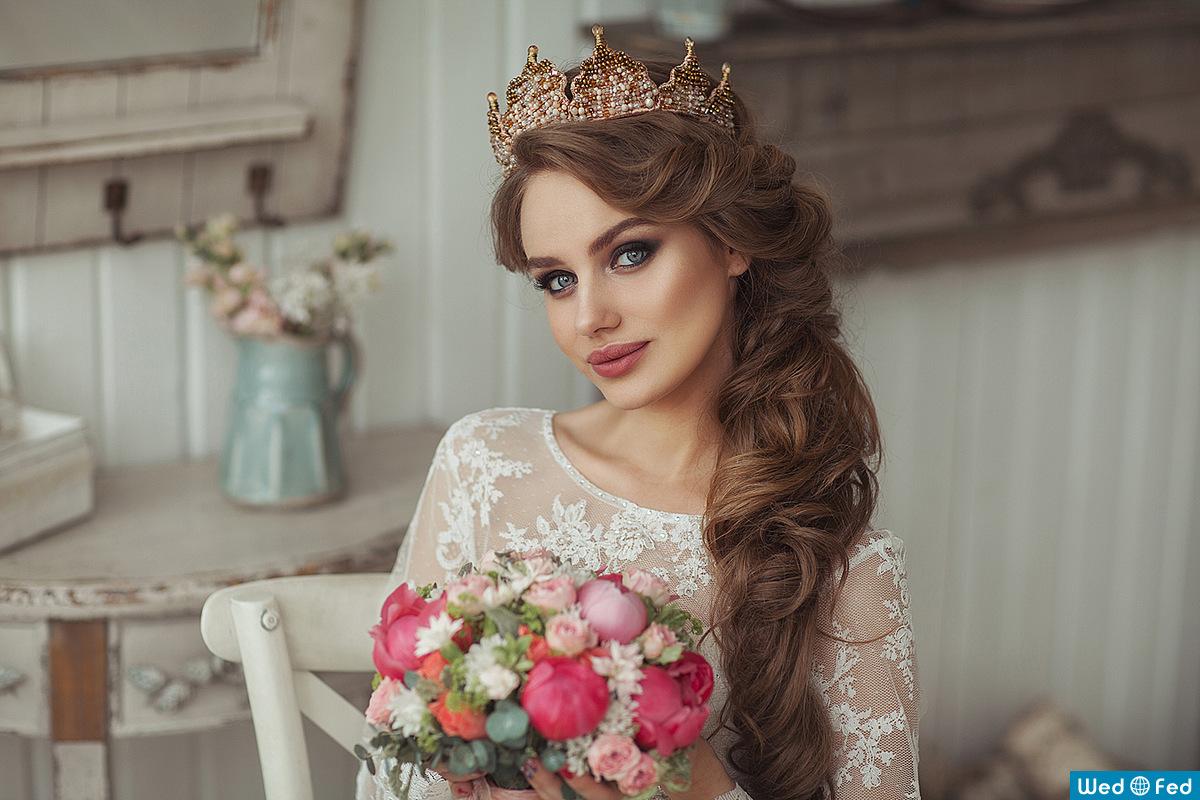 Красивые прически из свадебной дагестана