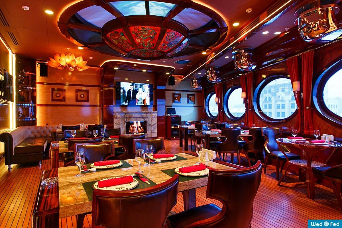лодка ресторан