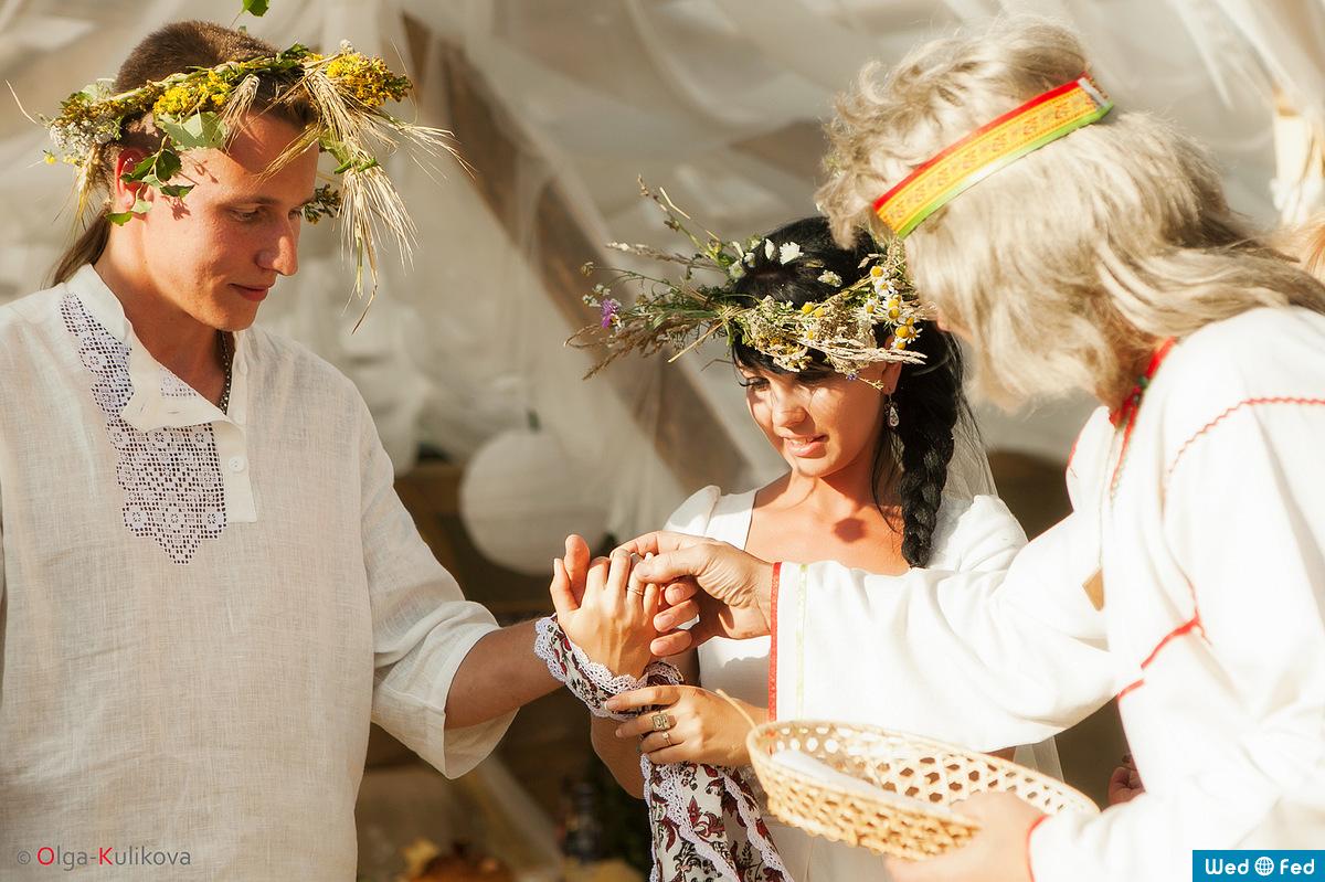 Старинные свадебные обряды в 18